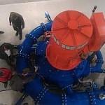 Das Herzstück des Kraftwerkes: Die Turbine