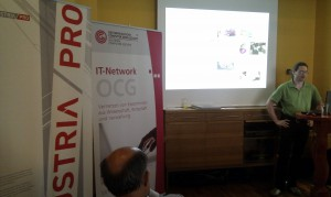 Vortrag von Hr. DI (FH) Andreas Reichinger, VRVis bei den OCG Horizonte vom 19.6.2012