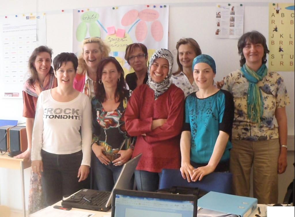 Erfolgreiche PC-Start Teilnehmerinnen
