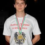 Der österreichische Medaillengewinner Thomas Pinetz