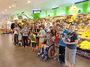 Roboter Flashmob in Scheibbs