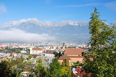 Herrlicher Ausblick auf Innsbruck
