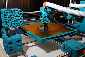 Ein selbstgebauter 3D Drucker