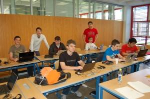 Beim IOI Trainingscamp in Wörgl