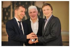 Thomas Geretschläger (OCG), Jim Friars (Foundation), Ronald Bieber (OCG)
