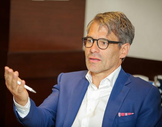 Thomas Michel, Geschäftsführer der DLGI, Deutschland.