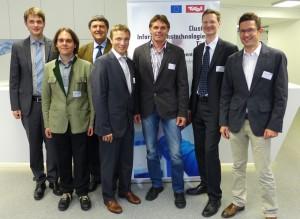 (v.l.n.r.) Florian Klotz, Ferdinand von Tüllenberg, Ulrich Hofmann, Ronald Bieber, Dirk Jäger, Rupert Lemmel-Seedorf, Franz Unterluggauer