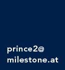 Training und Zertifizierung in der PRINCE2 Methodologie bei milestone