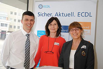 Kilian Christanell, Helga Leustik und Malgorzata Zagol