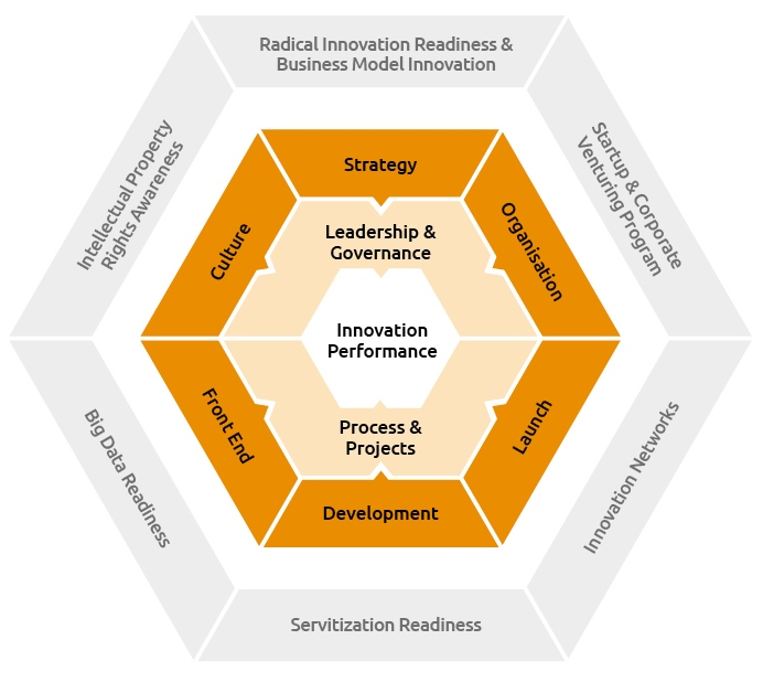 Innovation Excellence Model Graphik