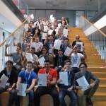 31 Schüler der 4ten Klassen des Zweiges Wirtschaftsingenieurwesen/Betriebsinformatik