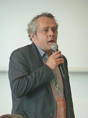 Michael Wiesmüller vom BMVIT bei der Eröffnung der IMAGINE 2016