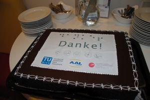 Torte für Wolfgang Zagler