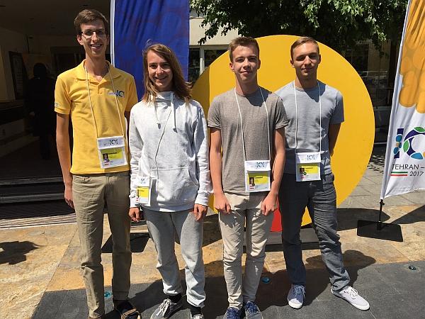 Das österreichische IOI Team