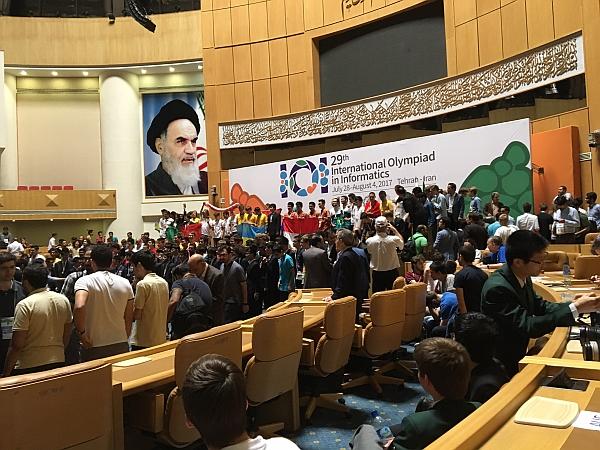 Die Abschlusszeremonie in Teheran
