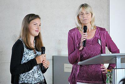 Alexandra Sperr und Astrid Krenn