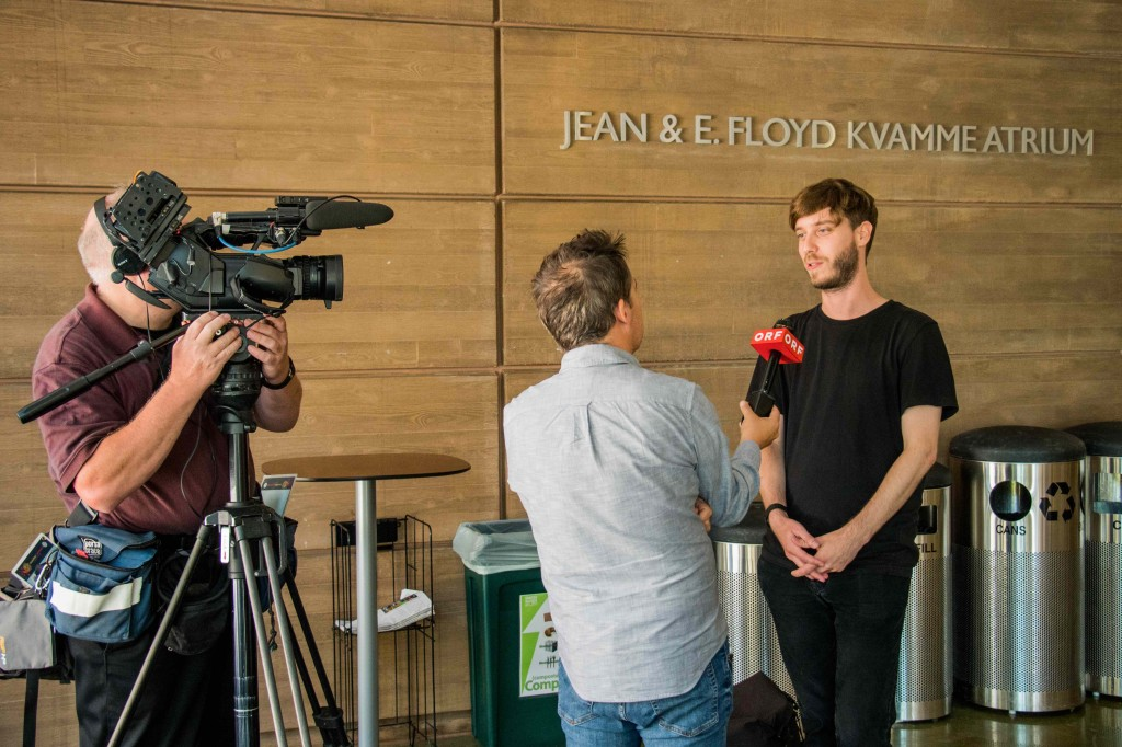 Fernsehinterview ORF - Max Heil (Copyright_we need light)