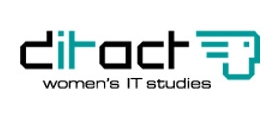 Logo ditact women's IT studies