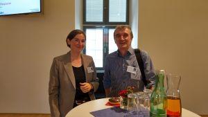 Ute Gebhardt, BSI Germany und Wolfgang Resch, OCG