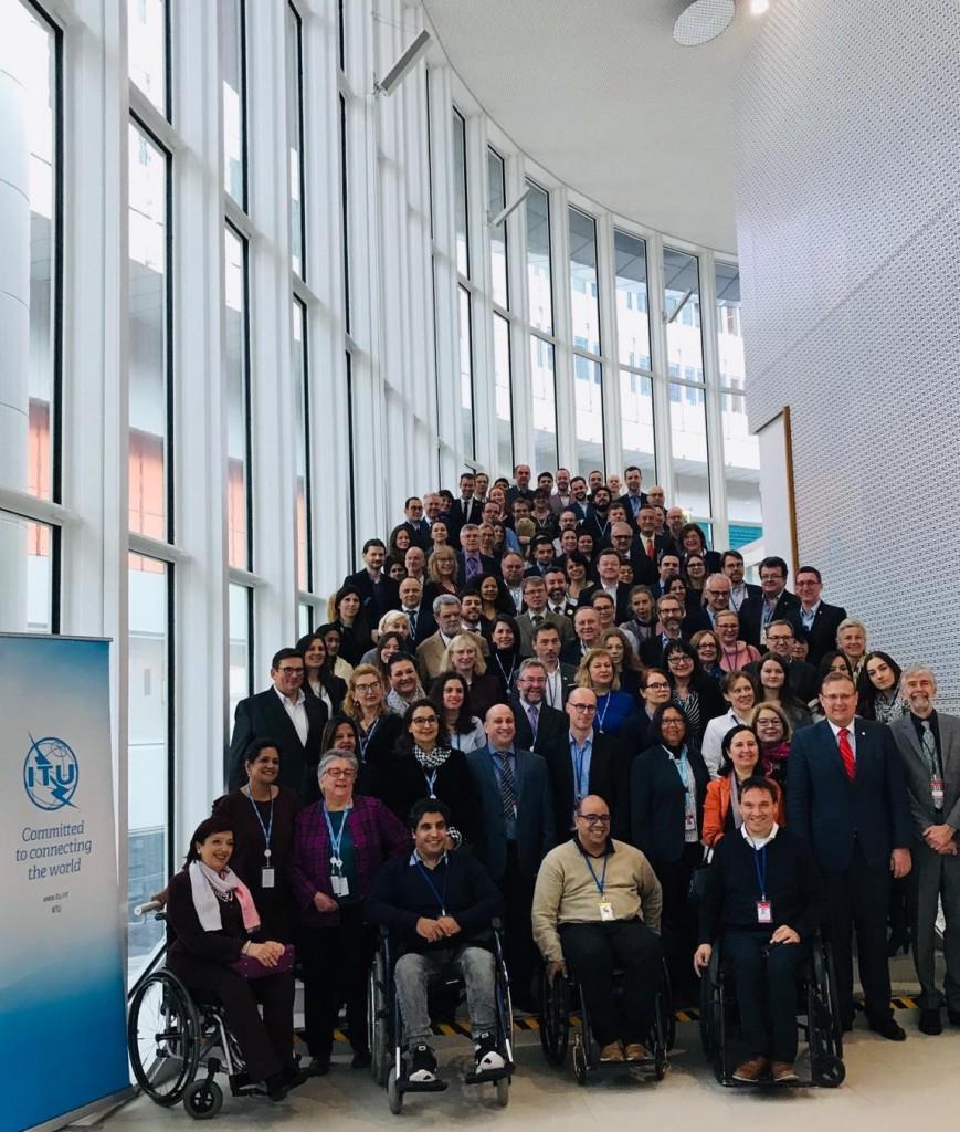 """Teilnehmer am 4. ITU-EC-Forum zum Thema """"Barrierefreies Europa: IKT für ALLE"""""""
