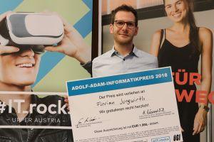 Florian Jungwirth, Gewinner Adolf-Adam-Informatikpreis 2018