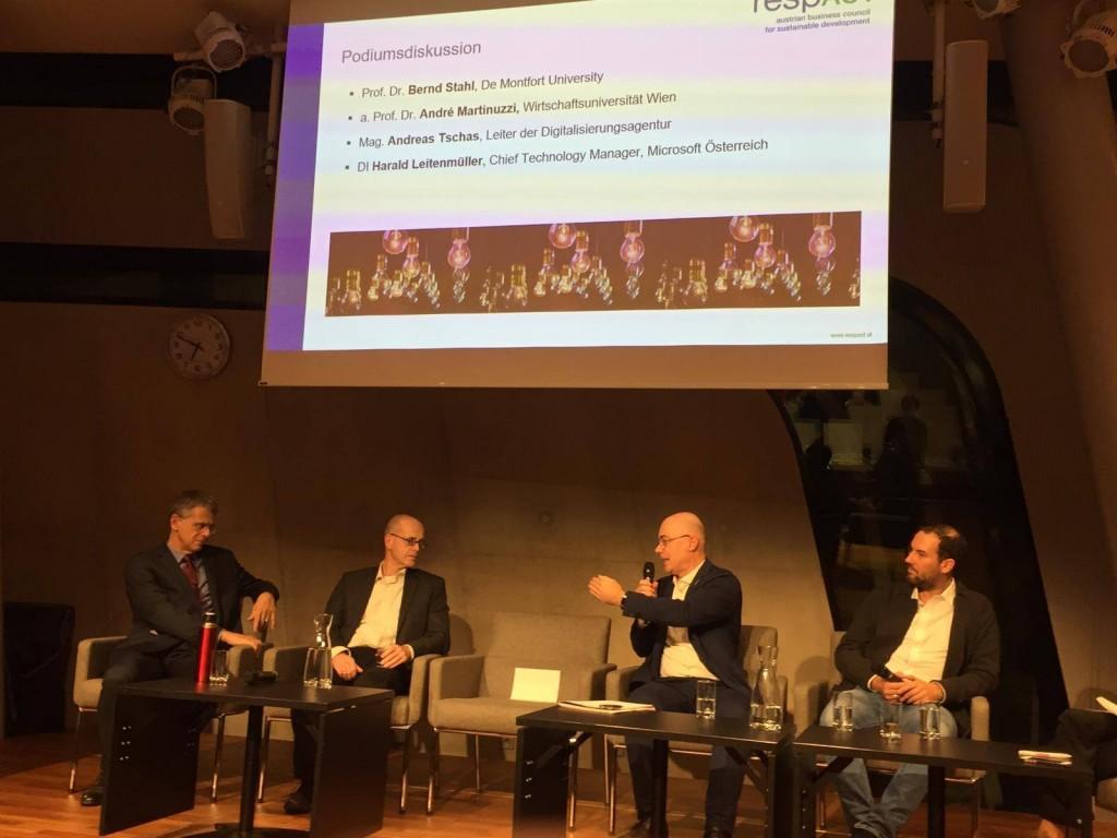 Podiumsgespräch an der WU Wien
