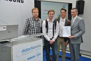 Felix Bauernfeind und Julian Josef Kienast gewannen den 1. Platz