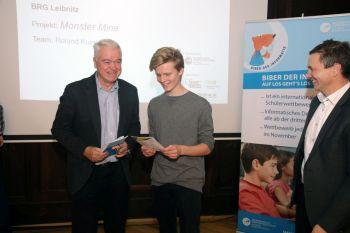 Verleihung des ccw18 Sonderpreises an Roland Kunert