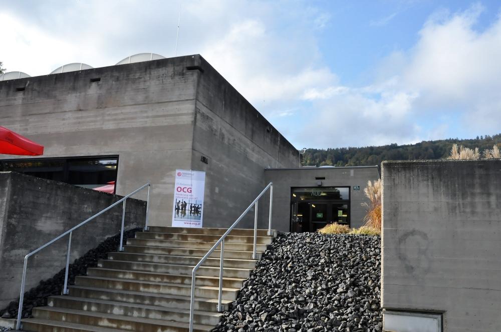 Aula X Space, die Location für die OCG Impulse in Graz