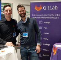 Ausstellerstand GitLab bei der sec4dev