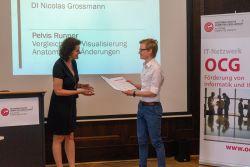 Prof. Kotsis und N. Grossmann